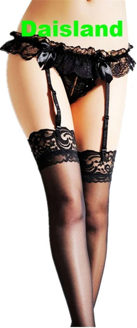 Sexy Women Lace Stocking Sock Garter Belt Suspender Set Hot Lingerie Thigh-Highs #Daisland #Sexy #Coupon#Discount#Promotion#Clearance#Sale #ExcedUSA#Intimates#Sleepwear #Lingerie #Lingerieseductive #Lingerieshower #Lingerielace #Lingeriehot #Lingeriediy #Lingerieparty #Lingerieclassy #Lingerieplussize #Garterbelts #garter belts wedding #garter belts lingerie #garter belts diy #garter belts outfit #garter belts hot #garter belts plus size #garter belts skirt #garter belts and stockings