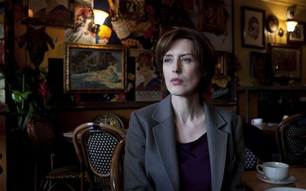 Femme fatale: Gina McKee stars as Jacqui Laverty in the BBC Two thriller 'Line of Duty' Photo: BBC/World Productions