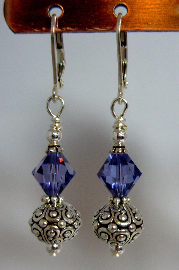 Crystal Oasis Earrings Choice Of Color By Sevenbluedesigns On Etsy, $1695