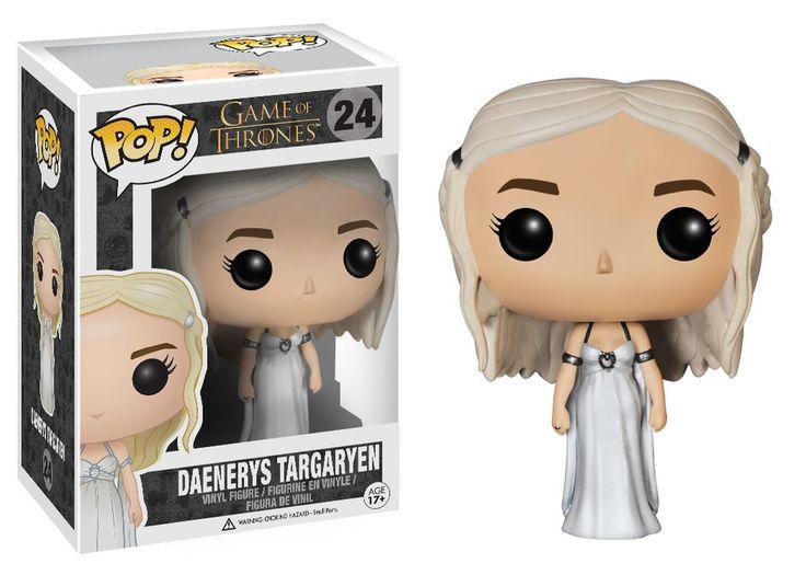 La figurine pop Daenerys en robe de mariée en détails : notez, commentez et parlez de Daenerys en robe de mariée avec les autres membres. Où acheter ou trouver la figurine Daenerys en robe de mariée de la collection Game of Thrones.