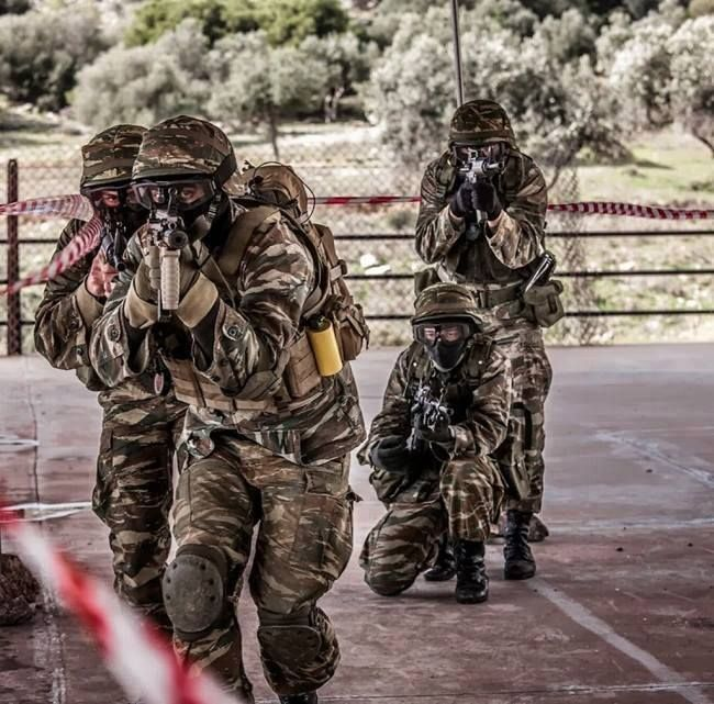 Greek Special Forces Unit.