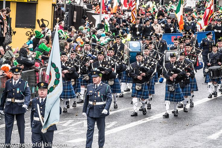 Photo by William Murphy from Dublin, Ireland – St. Patrick's Day Parade (2013) In Dublin Was Excellent But The Weather And The Turnout Was Disappointing.