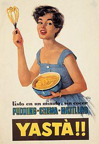 Años 50. España salía de la penuria y la cartilla de racionamiento se suprimió en 1952. Los aliados de EEUU comenzamos a imitar su estilo de vida y aparecen nuevos productos de consumo.