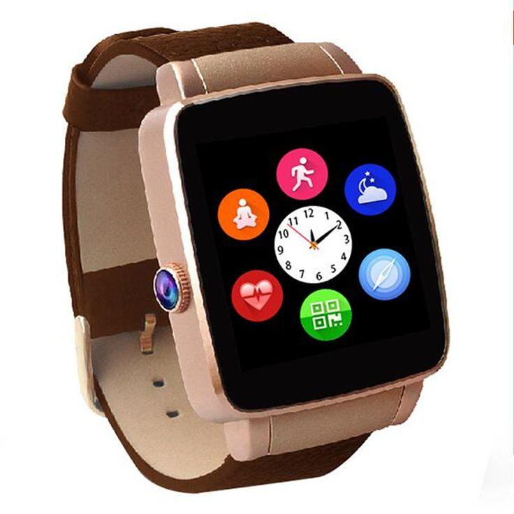 HEIßE Bluetooth Smart Uhr X6 Smartwatch sport uhr Für Apple iPhone Android-Handy Mit Kamera Unterstützung Sim-karte damen uhren //Price: $US $34.26 & FREE Shipping //     #smartuhren