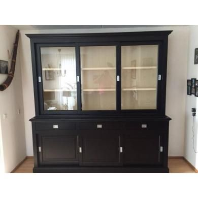 25 beste idee n over zwarte buffetkast op pinterest keuken dressoir en diner buffet - Klassieke chique meubels ...