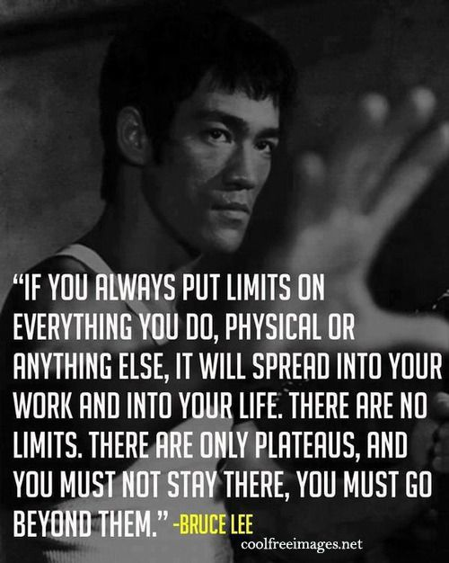 Great Quote By Brucelee