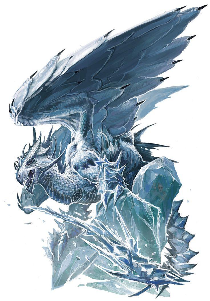 Ancient White Dragon by BenWootten on DeviantArt