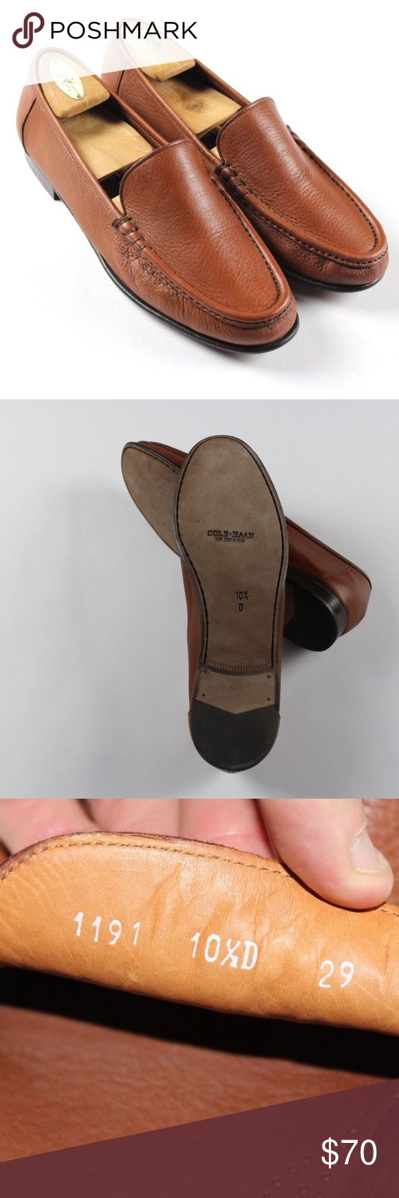 Cole Haan Resort Italian Leather Driving Loafers Cole Haan Resort Italian Leather Driving Loafers  Excellent shoes  Worn once, shoe trees not included  Brown  The size is 10.5  Leather  Check out my other items in my store! Cole Haan Shoes Loafers & Slip-Ons