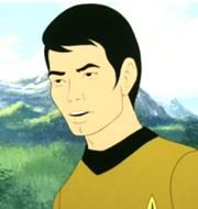 Animated Hikaru Sulu in 2269