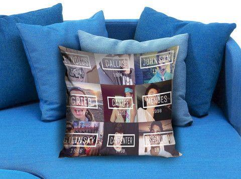Modern Family Pillow Case : Magcon Boys Family Pillow Case #pillowcase #pillow #cover #pillowcover #printed # ...