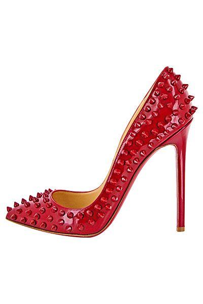 Christian Louboutin - Women's Shoes - 2012 Fall-Winter: Red Christian, Fall Wint Christianlouboutin, Red Shoes Christian, Shoes Christian Louboutin, Christian Louboutin Sexy