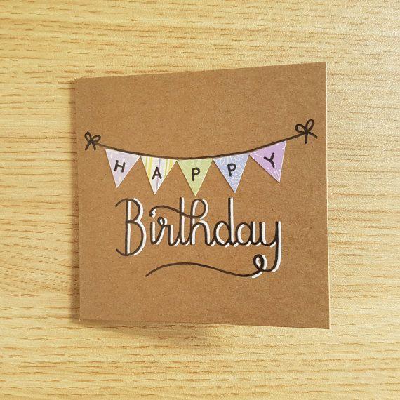 Top Oltre 25 idee originali per Biglietti di buon compleanno su  YU52