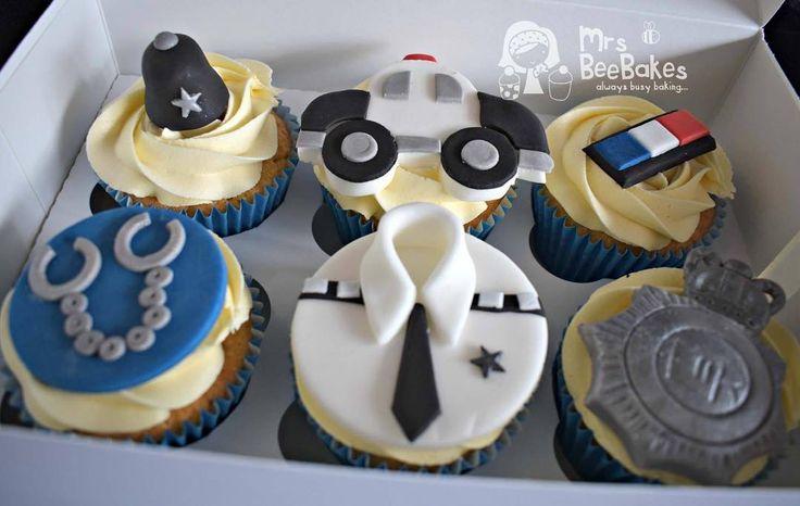 #police #cupcakes #whitleybay #policecupcakes #cakesforkids #cakeuk #cakeforboys #cakesformen