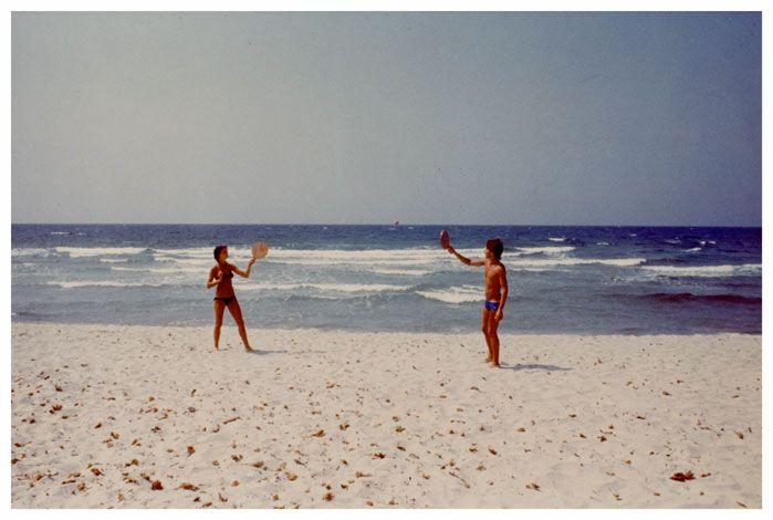 Luigi Ghirri, Ile Rousse (1976), via Matthew Marks Gallery