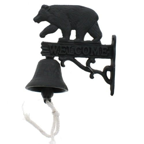 Black Bear Door Bell