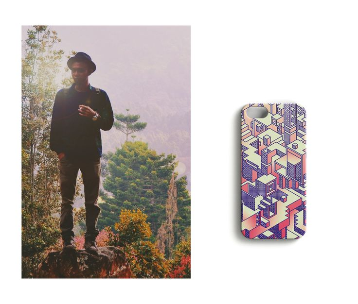 Hiking in the wildlife, peaceful soul //Box Office iPhonecase, designed by Luka Appelberg