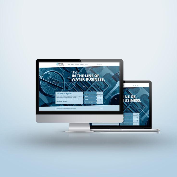 Verkkosivusto, Multilingual non-responsive website, Fenno Water Ltd Oy