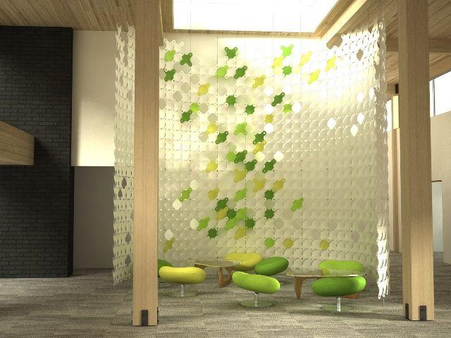 Resultado de imagen para separadores de ambiente para oficinas