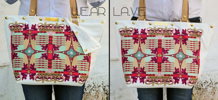 Bags with changeable outfits! Only from WE.AR LA.VIE !!