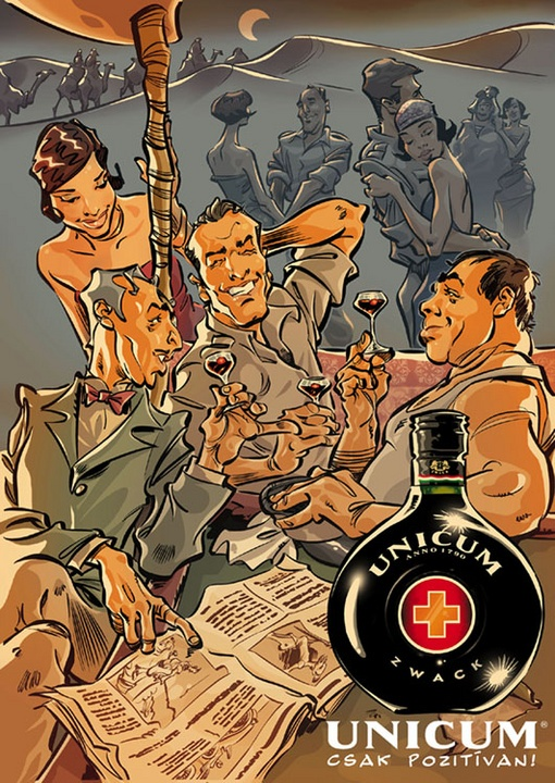Casablanca here we go! Collected by: http://www.pinterest.com/bookpublicist/ #Magyar #Hungarian #plakat #poszter #alcohol #marketing #vintage