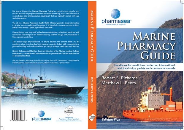 For almost 30 years the Marine Pharmacy Guide has been the most popular and trusted resource for people in the maritime industry seeking up-to-date information on medicines and pharmaceutical equipment that are typically carried on-board seafaring vessels.