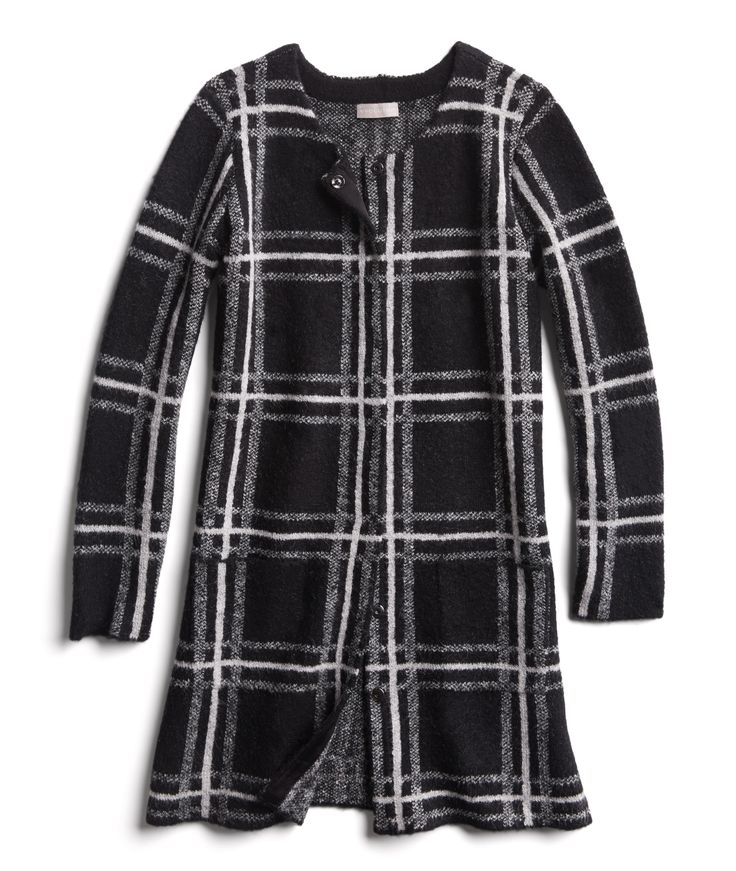 Winter Stylist picks: Plaid duster cardigan
