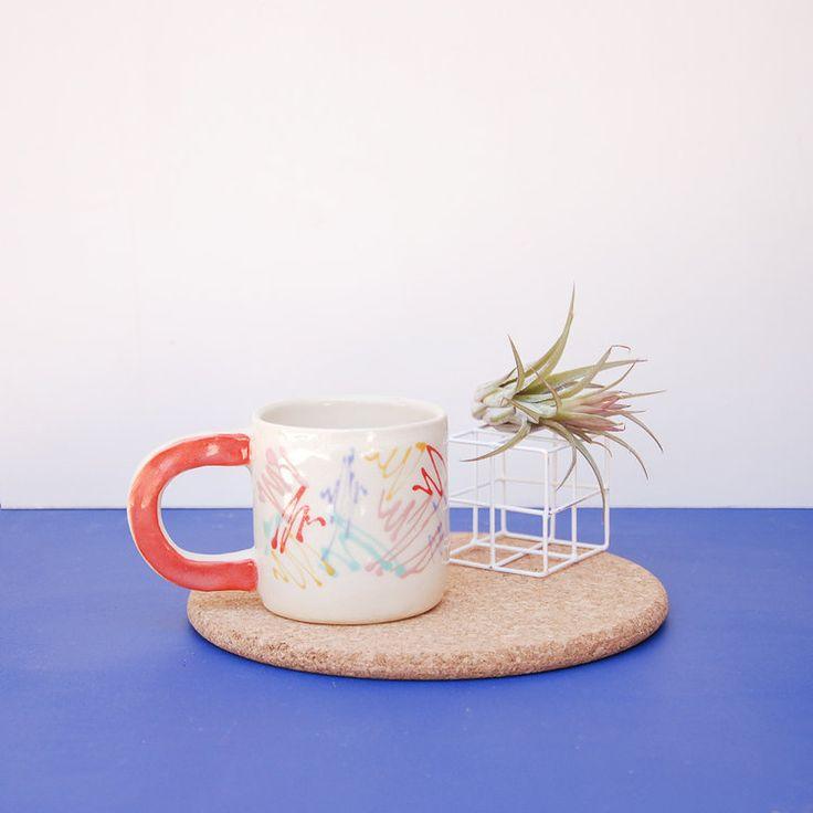 Scribble Mug | Nightshift Ceramics