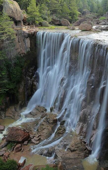 Cusarare Waterfall, Chihuahua, Mexico http://nerium.com.mx/join/debbiekrug