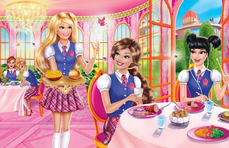Barbie Cartoon | Barbie Princess Charm School Name Cartoons