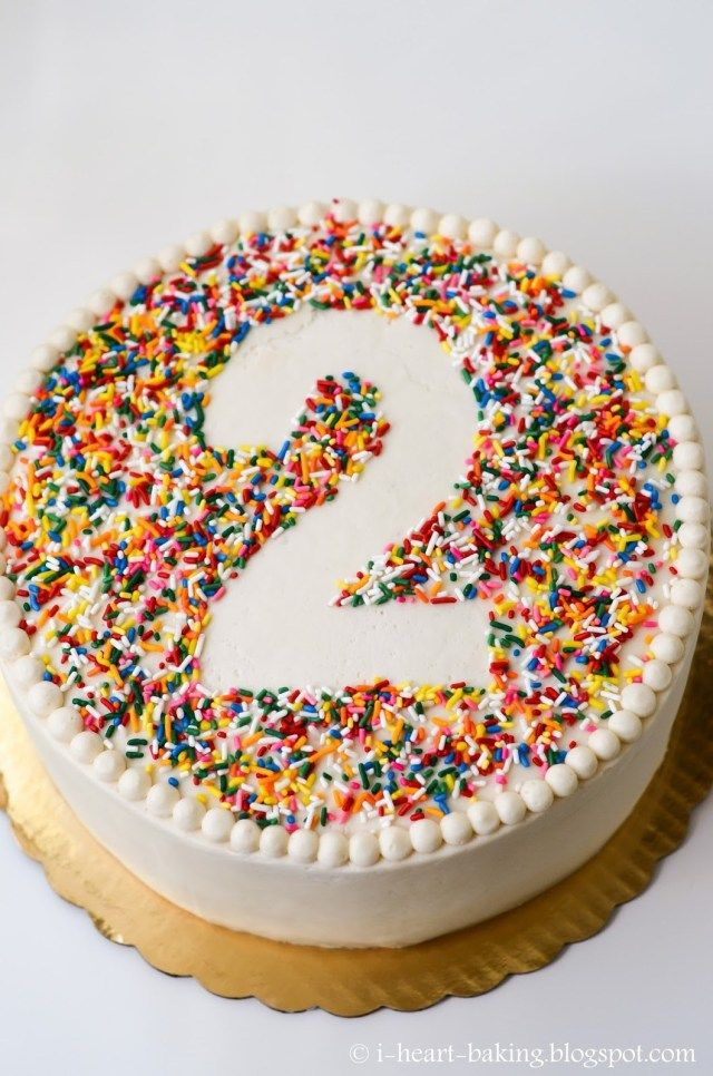 21+ Bestes Bild von Sprinkle Birthday Cake. Sprinkle Geburtstagstorte I Heart Baking …   – birthday cake easy