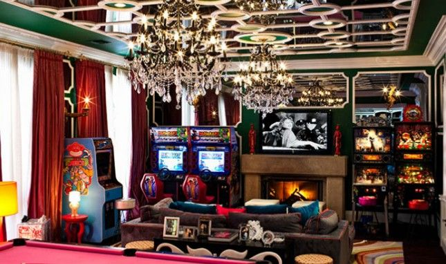 10 Crazy Celebrity Rooms You Have to See to Believe