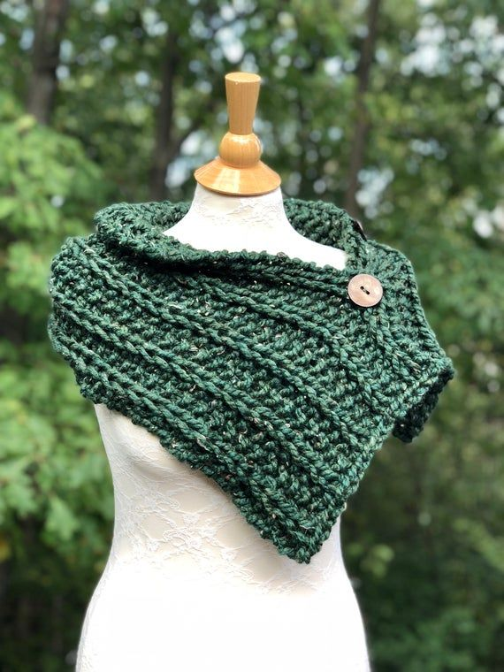 KNITTING PATTERN PDF only - Beginner - 3 Button Rustic ...