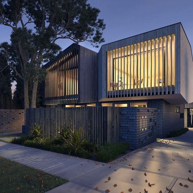 100 Albert Street Preston is a collection of eight highly considered, architecturally designed homes in a burgeoning setting