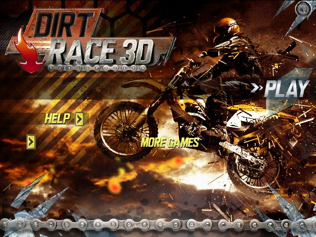 Play #DirtRace3D. Race your dirt bike to compete with opponents to win