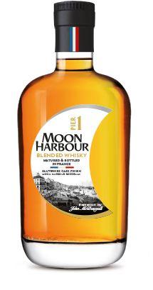 Whisky Pier 1, distillerie Moon Harbour, 100% Bordelais, Premium Blended Whisky