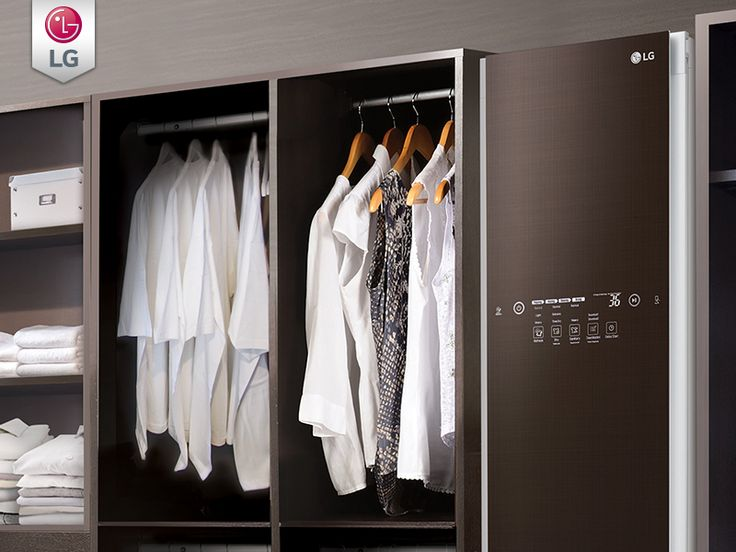 More Than Just A Steam Closet, The LG Styler Clothing Care System Is  Designed To Refresh Clothes Without Water Or Detergents.