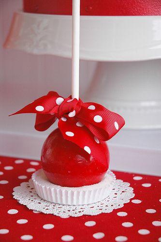 Classic Red Ball Birthday