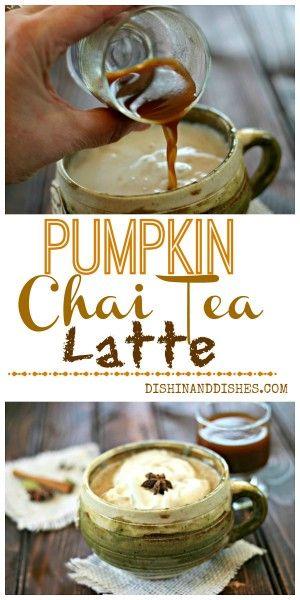 Pumpkin Chai Tea Latte Concentrate