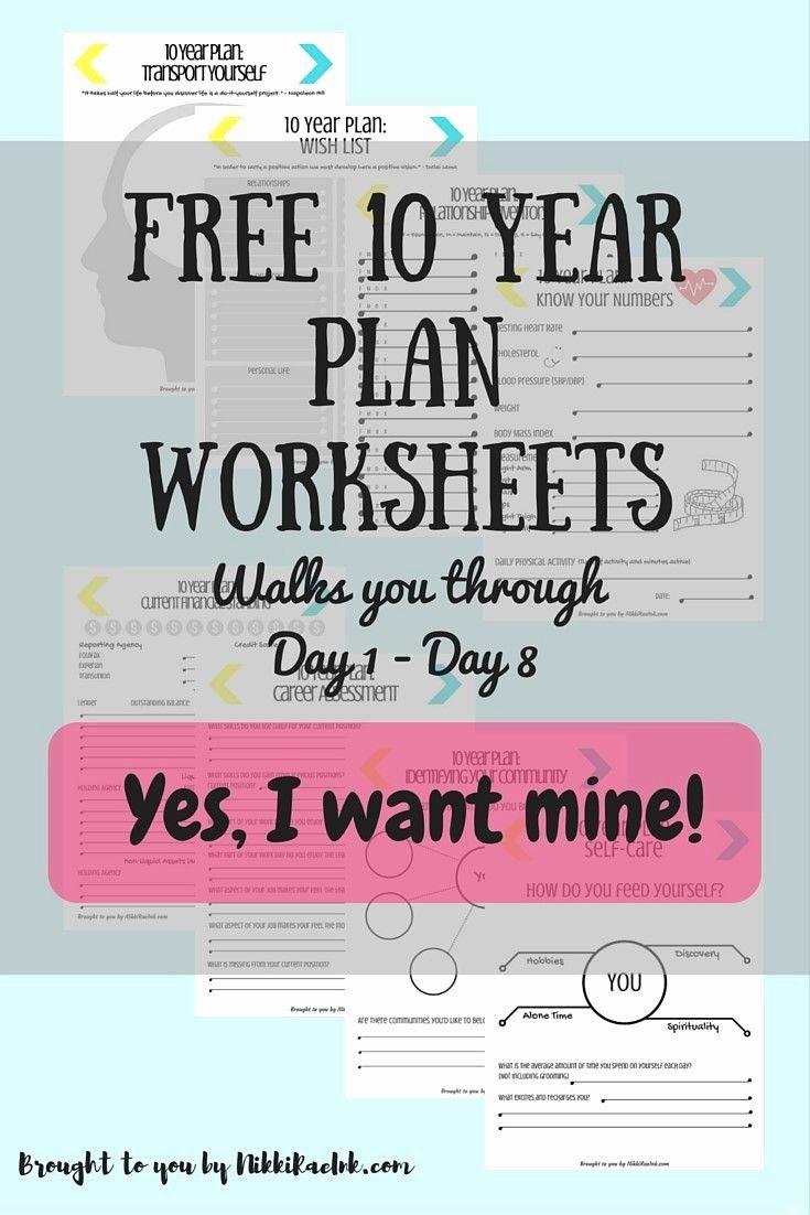 10 Year Life Plan Template Elegant 30 Day Challenge Creating A 10 Year Plan Days 1 15 In 2020 10 Year Plan Life Plan Template Year Plan