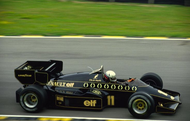Imola 1985, 2nd and last F1 Win for Elio de Angelis (Lotus 97T)