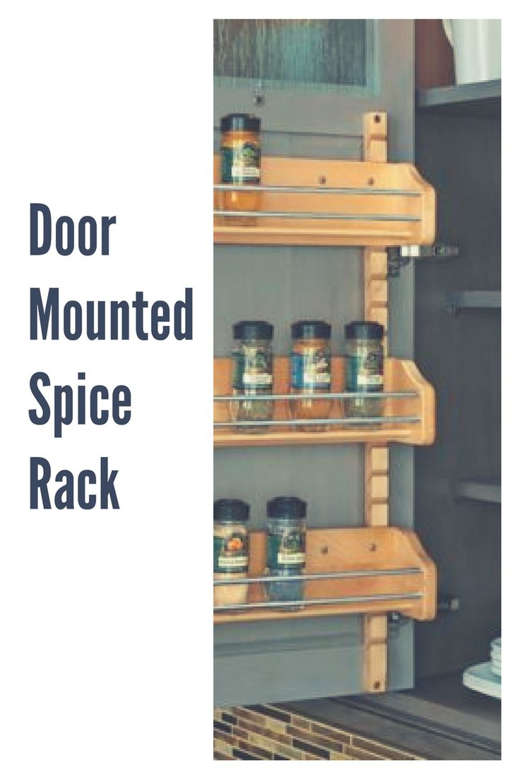 The 25+ best Door mounted spice rack ideas on Pinterest ...