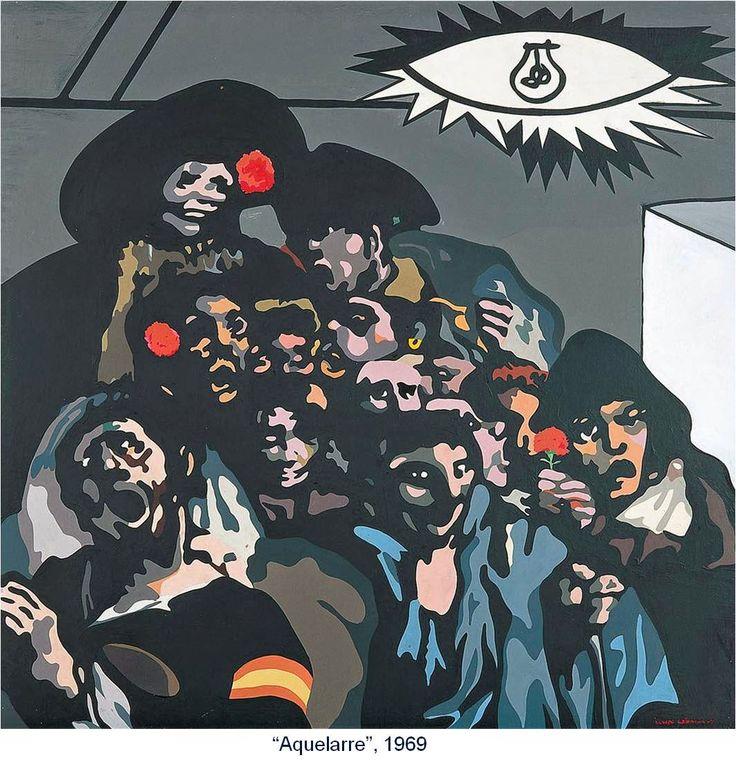Equipo Crónica, Aquelarre, 1969 AREL-ARTE: EQUIPO CRÓNICA: ÉTICA Y ESTÉTICA