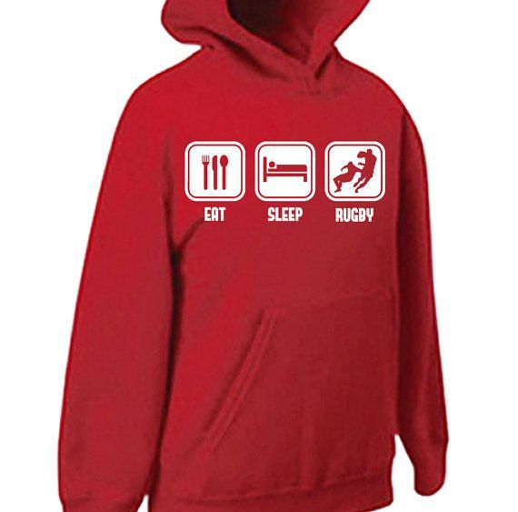 eat-sleep-rugby-player-sport-union hoodie