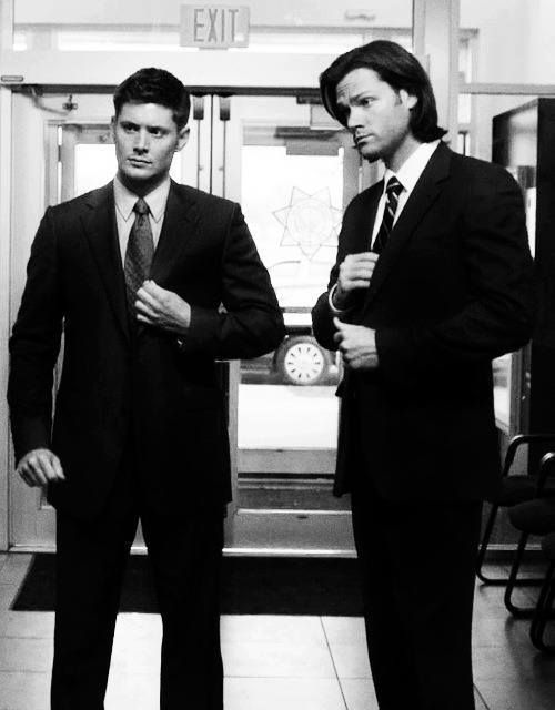 Jensen Ackles and Jared Padalecki. LOOK AT THEM. THEY KNOW WHAT THEY'RE DOING TO US.