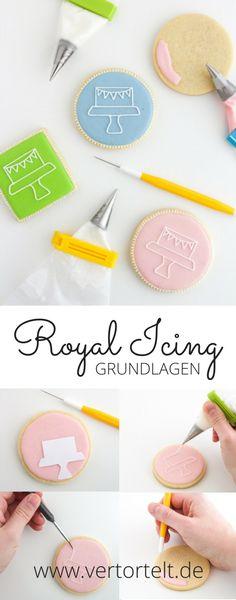 Royal Icing - Grundlagen mit Rezept und nützlichen Tipps
