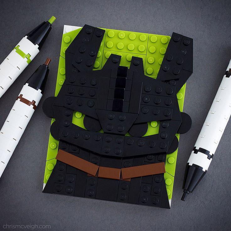 #LEGO Brick Sketch Dragon Training!