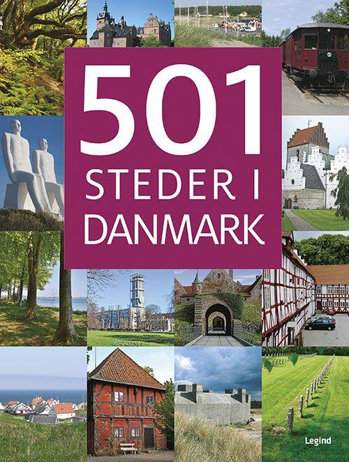 501 STEDER I DANMARK - Bogen fortæller om en lang række spændende seværdigheder, du skal se i Danmark, og den er fyldt med inspiration til utallige ture ud i landet.   Danmark er et lille land, men vi har masser af flot natur og spændende lokaliteter, der fortæller om landets historie. Bogen indeholder det hele: naturskønne områder, udsigtspunkter, skove, kystområder, slotte, herregårde, museer, kirker, gamle købstæder, fyrtårne og meget mere.