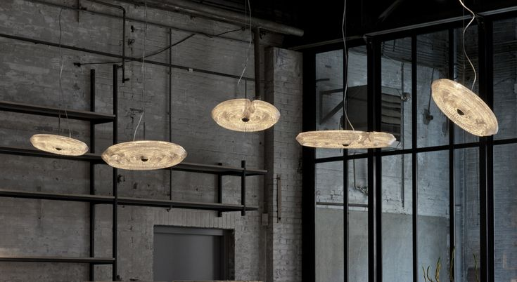 Fresnel Suspension Lamps by Dirk Vander Kooij