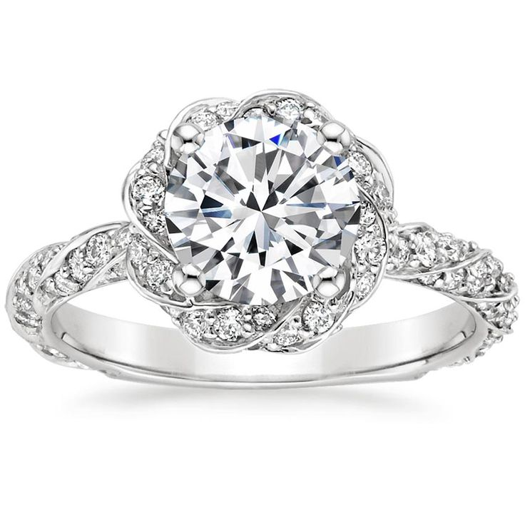 I think I found the ring I want... three years early :'( Platinum Cordoba Diamond Ring from Brilliant Earth