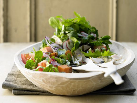 Austrian Salad with Chicken Aspic and Pumpkin   Eat Smarter
